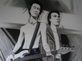 THE SEX PISTOLS -2- by DEVIAN-MALKHAVIAN