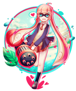 Inkling girl by Pokkiu