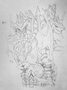 Digimon Sketch Challenge: Day #25 by Omnimon1996