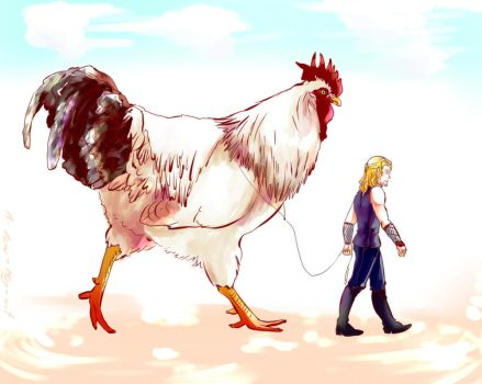 Thor and his cock by MicoSol