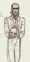 Ghost in Dress Clothes by Livie-Lightyear