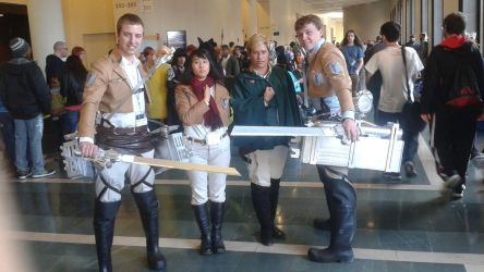 Survey Corps 2 by meichwan