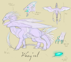 Khey'rel Character Sheet by Kieath