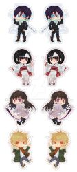 Noragami Keychans/Straps by Kawaii-Dream
