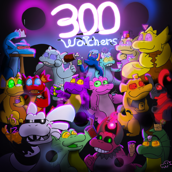 Mergy - Thanks for 300+ ! by Garry-O-Jelly