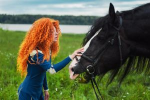 Angus - a friend for Merida by shua-cosplay