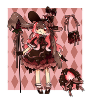 Choco Strawberry Wish Drop Adopt - CLOSED by kuroeko-adopts