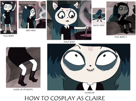 How to Cosplay as Claire by Prentis-65