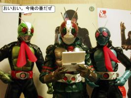 Kamen Rider DS Session by KYQ