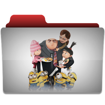 Despicable Me folder icon by PanosEnglish