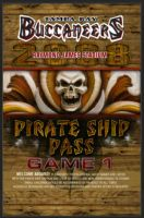 Pirate Ship Pass by ce3Design