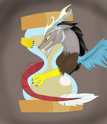 Discord Time of Chaos by Shinigami-Silver