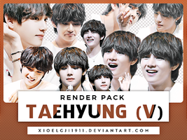 Render Pack /// TAEHYUNG by Xioelgji1911