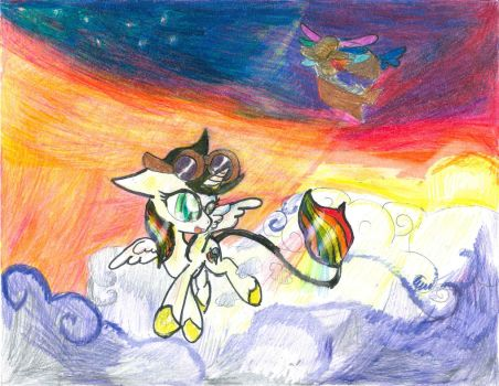 Flight of the Lightning Bliss by BreezeAria
