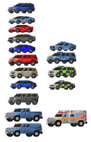 Sprited Vehicles 10-9-17 by Monstarules