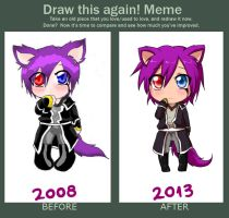 Meme  Before And After by meguland