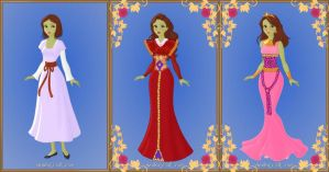 Queen Esther from VeggieTales by LadyAquanine73551