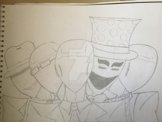 The Slender Brothers by painful1