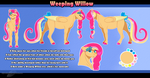 COM: Weeping Willow Reference Sheet by BijutsuYoukai