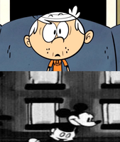 Lincoln Loud Mortified of Suicide Mouse by MarcosPower1996