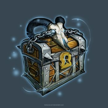 Magic Chest by Kolosova-Art