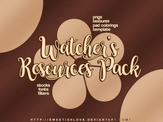 150+ WATCHERS RESOURCES PACK by Sweetishlove
