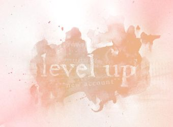 got a new acc ~ level up! ~  let's evolve by Sinister-Teddy