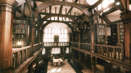 Old Library Render High Res by MisterJL