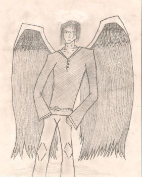 The Winged Dude by TheWaveWrider