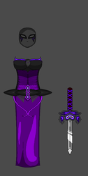PheonixDrop Armor Idea for season 3 for Aphmau by Flamingjustice