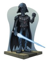 SW McQUARRIE CONCEPT : DARTH VADER by melies