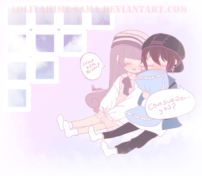 Line play - Gift for Al-san by LolitaHime-sama