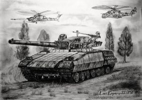 Soviet experienced MBT Object 477 by LastEmperor220796