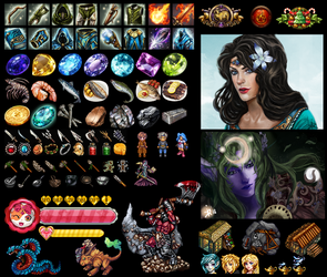 My icons, avatars and individual images part two by Kimyri