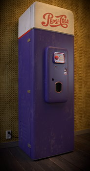 Old Vending Machine (50's) by nuvalis