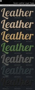 7 Leather Layer Styles by HollowIchigoBanki