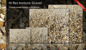 Texture Gravel Pack 01 by ncrow