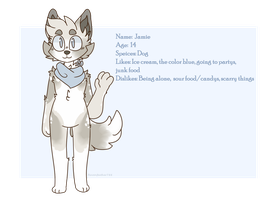 Jamie [Ref Sheet] by Ravenfeather788