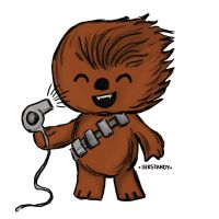 Chewbacca Hair by Inkstandy