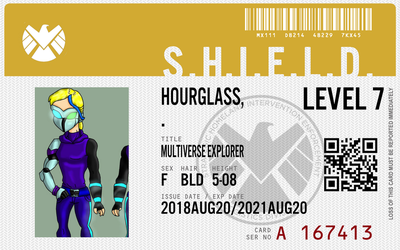shield agent hourglass by connorm1