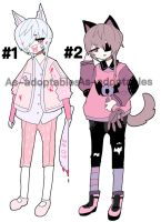 Kemonimi adoptable batch open by AS-Adoptables
