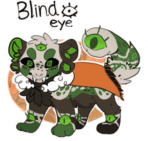 [moshie] Blind Eye- auction closed by Solitaryalopex