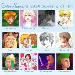 2014 Summary by GoldenYume