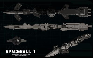 Spaceball One ortho by unusualsuspex