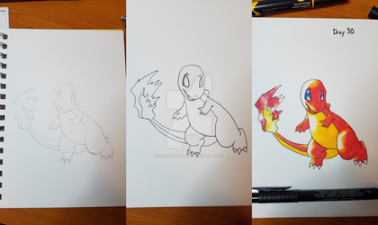 Inktober 2017 - Day 30, OG Pokemon Day by Lionheartssj