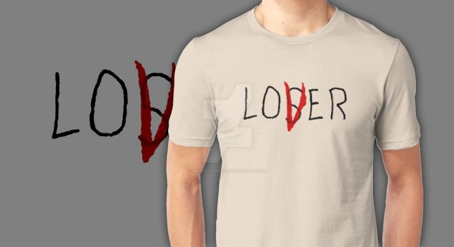 LOVER/LOSER T-SHIRT by MrPacinoHead