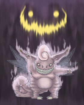 Clefable's Midnight Sonata by UVERwolf