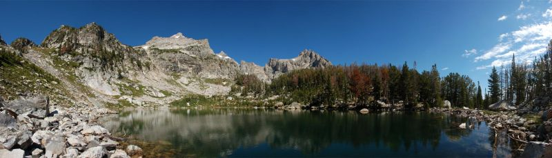 Teton Amphitheater Lake 1 2010 by eRality
