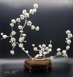 Ikebana Inspiration - Sakura Poetry by KarineDiot