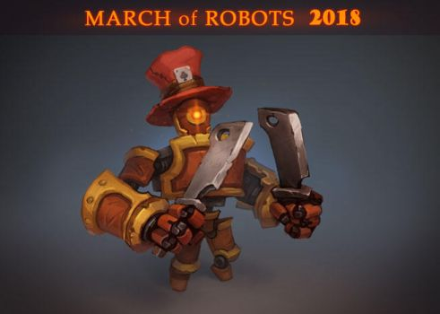 March of robots 2018 by Saito00